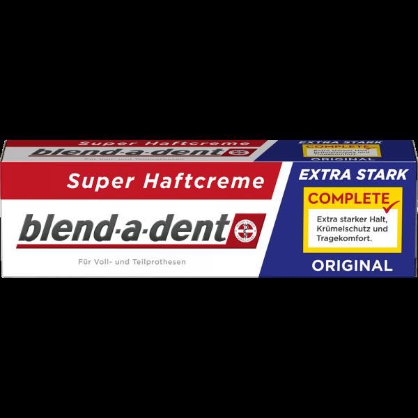 BLEND-A-DENT Super-Haftcreme: extra stark, 47 g