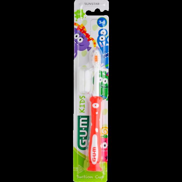 GUM Kids Monster Zahnbürste: extraweich, 3-6 jahre, Blister