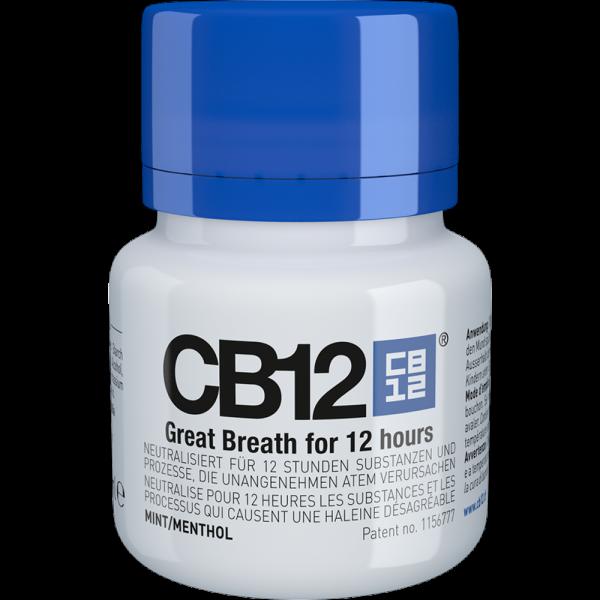 CB12 Mundspüllösung: Mint/Menthol, 50 ml