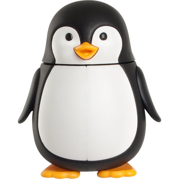 Zahnbürstenhalter Pinguin