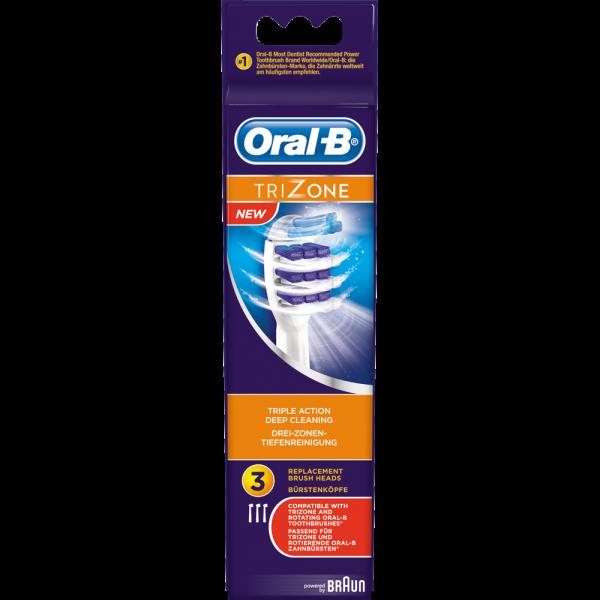 Oral-B Bürstenköpfe TriZone: 3 Stück