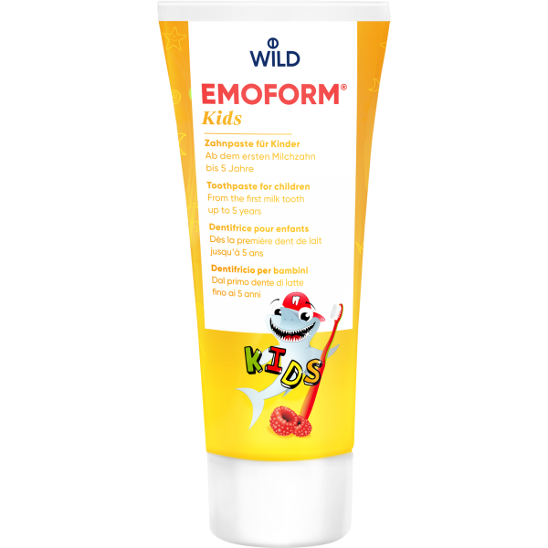 WILD Emoform Kids Zahncreme: 75 ml