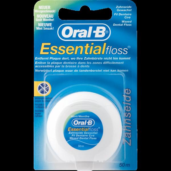 Oral-B Essentialfloss: mint gewachst