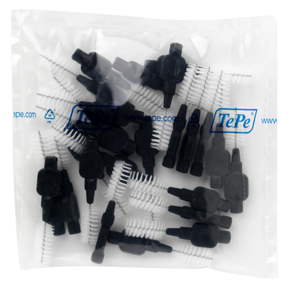 TePe Interdentalbürste - Original: schwarz / 1.5 mm / 25 Stück