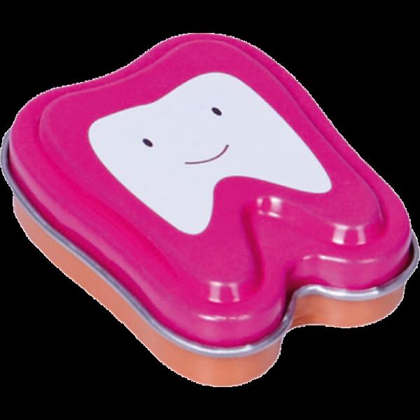 Milchzahndose Zahnform: pink