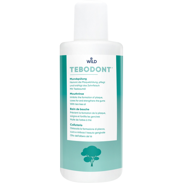WILD Tebodont Mundspülung: 400ml