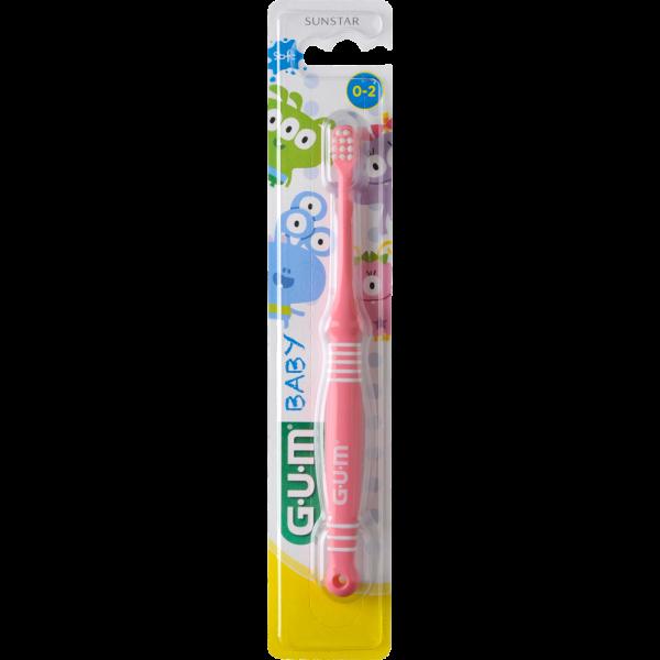 GUM Monster Baby Zahnbürste extraweich