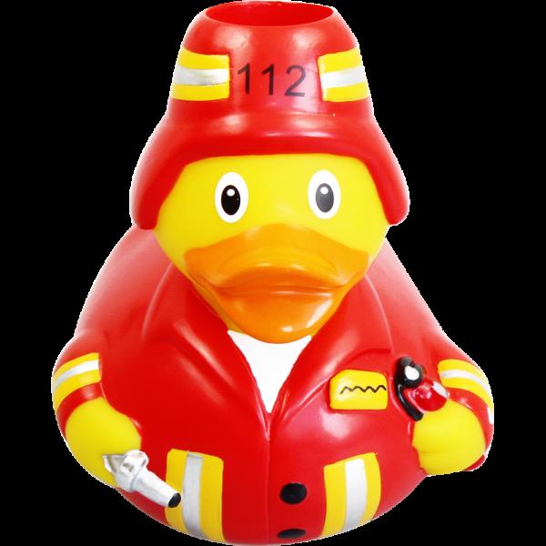 my toothie duck Zahnbürstenhalter Feuerwehr-Ente