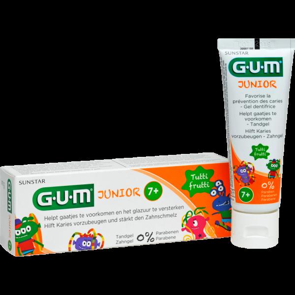 GUM Junior Zahngel Tutti-Frutti, 7-12 Jahre: 50 ml
