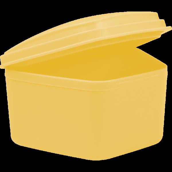 wellsamed KFO / Prothesenbox: standard, gelb