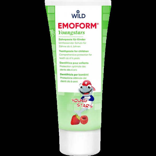 WILD Emoform Youngstars Zahncreme: 75 ml