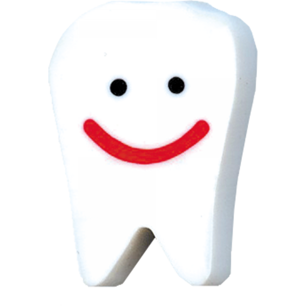 Mirus Mix Radierer: Weiße Zähne