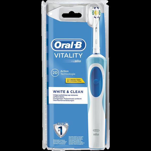 Oral-B Vitality White and Clean elektrische Zahnbürste