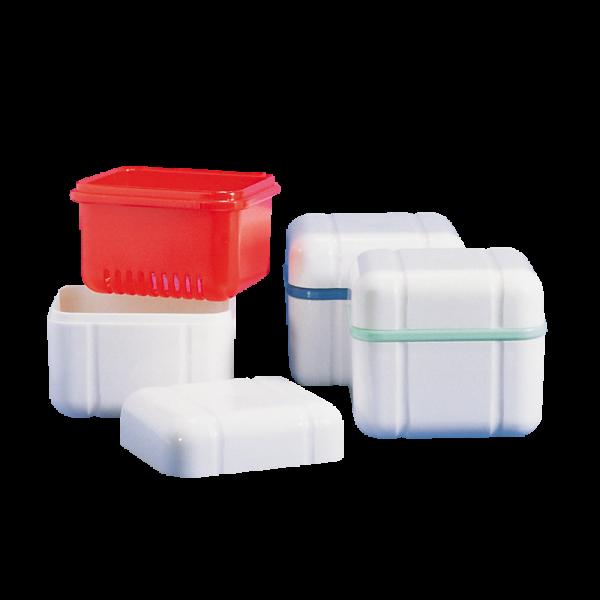 CURAPROX »box« Prothesenbox: 1 Stück, mint