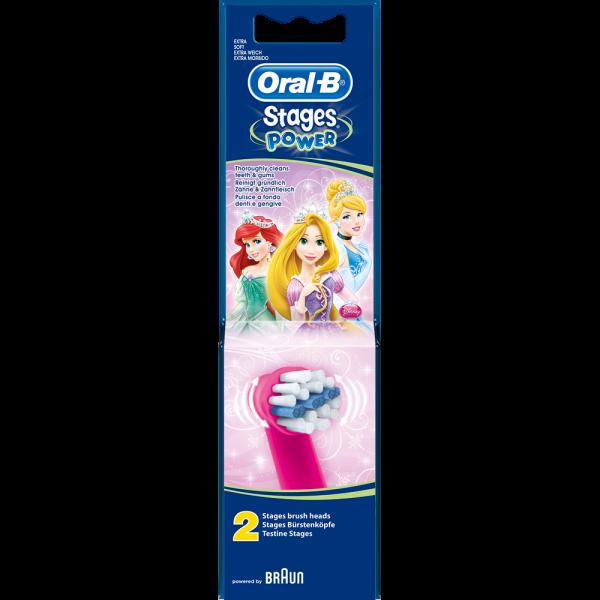 Oral-B Bürstenköpfe StagesPower Prinzessin