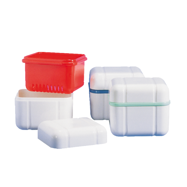CURAPROX »box« Prothesenbox: 1 Stück, blau