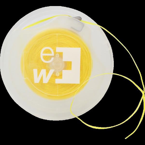 edel+white Waxed Easy Tape: Caipirinha, gelb, 70 m, Blister