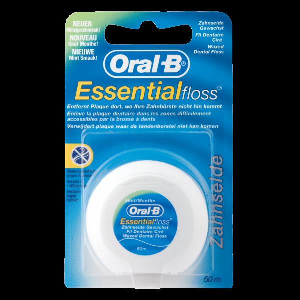 Oral-B Essentialfloss »mint« gewachst