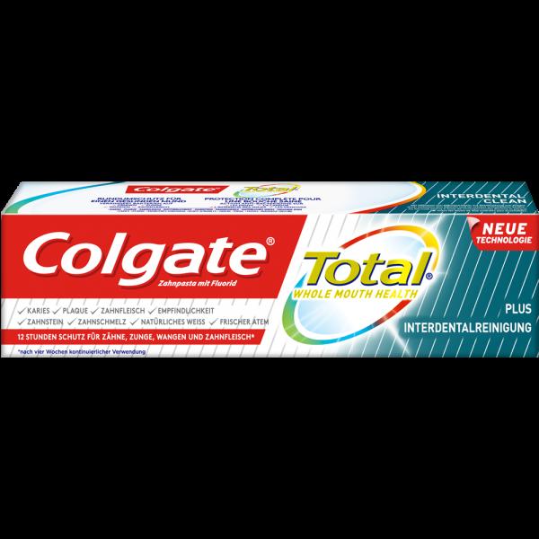 COLGATE Total Plus: Interdentalreinigung Zahnpasta, 75 ml