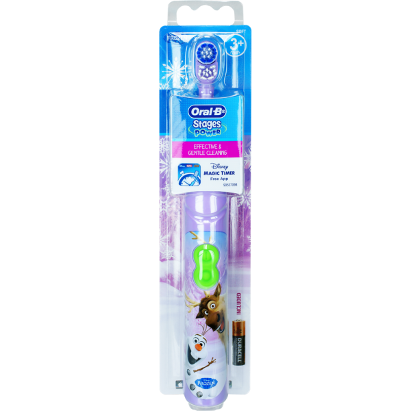 Oral-B Stages Power Batteriezahnbürste: Frozen