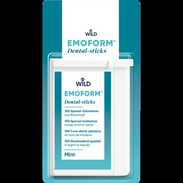 WILD Emoform Dental-sticks: mint, mit Fluorid