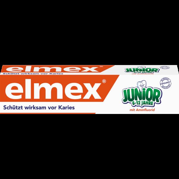 elmex JUNIOR Zahnpasta: 75 ml Tube